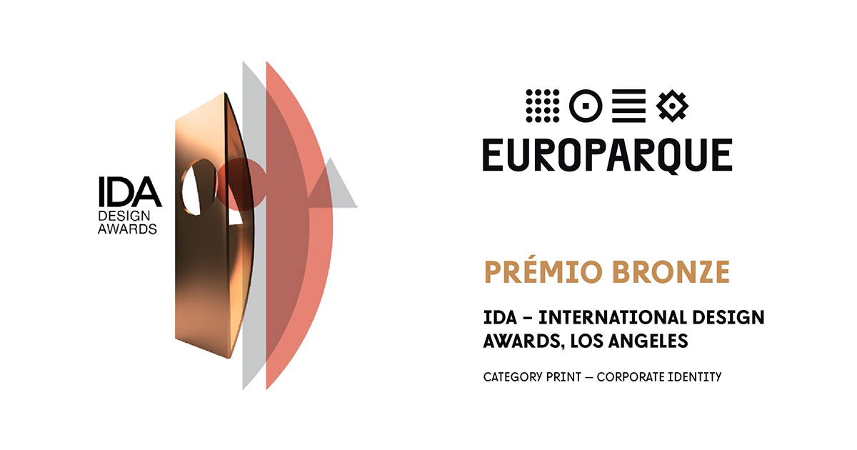 International Design Awards Atribuem Bronze Ao Rebranding Do EUROPARQUE