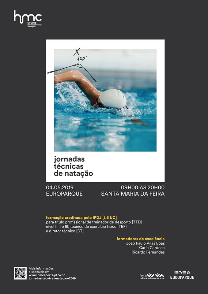 1ª Edição Das Jornadas Técnicas De Natação No EUROPARQUE