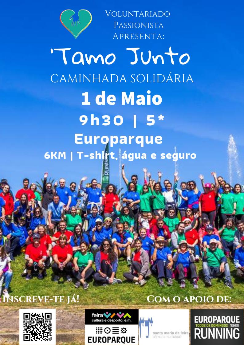 """""""Tamo Junto"""" No Dia 1 De Maio"""