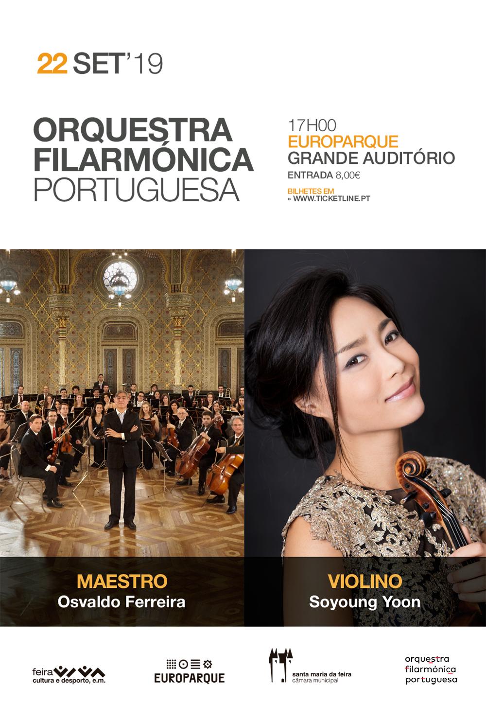 Concerto Da Orquestra Filarmónica Portuguesa No EUROPARQUE