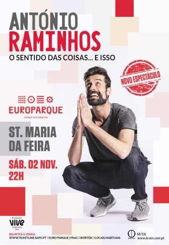 António Raminhos No EUROPARQUE Em Novembro