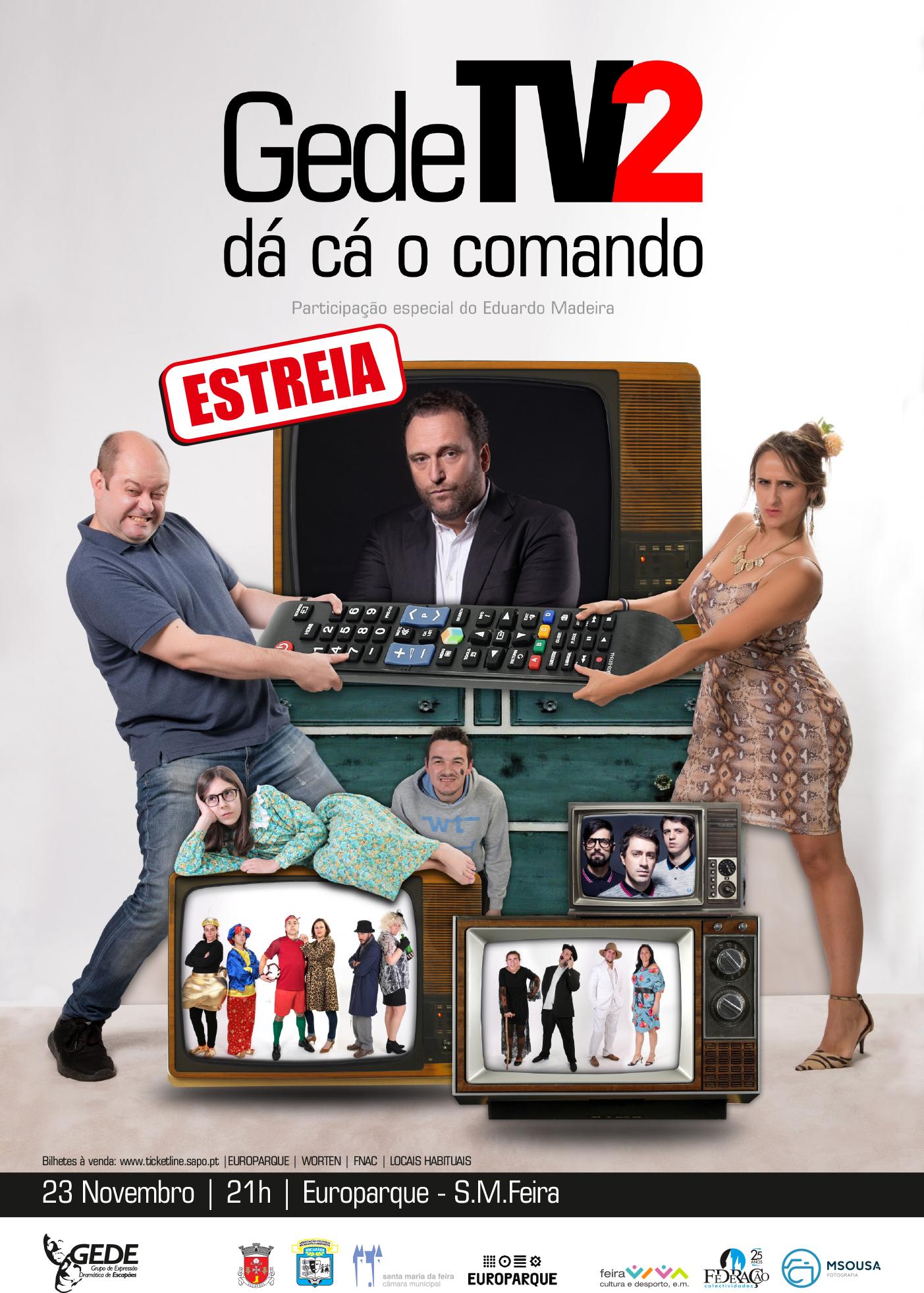 GEDE TV Dá Cá O Comando 2