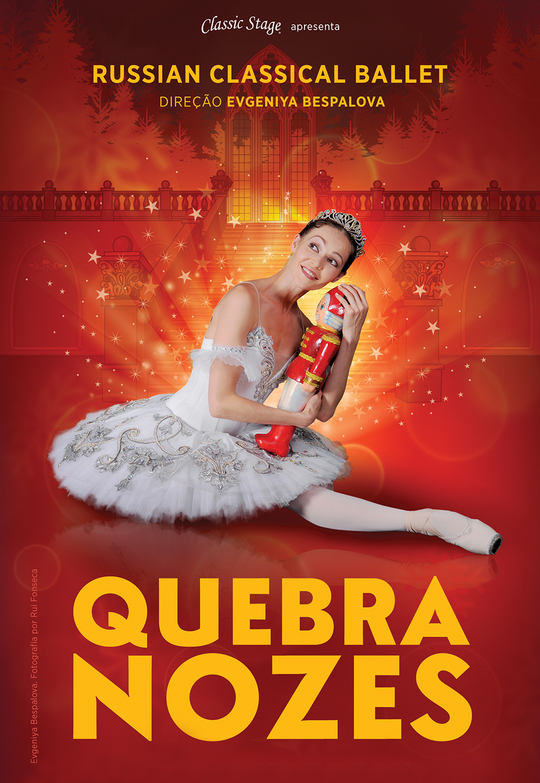 "Russian Classical Ballet apresenta o ""Quebra-Nozes"" no EUROPARQUE"