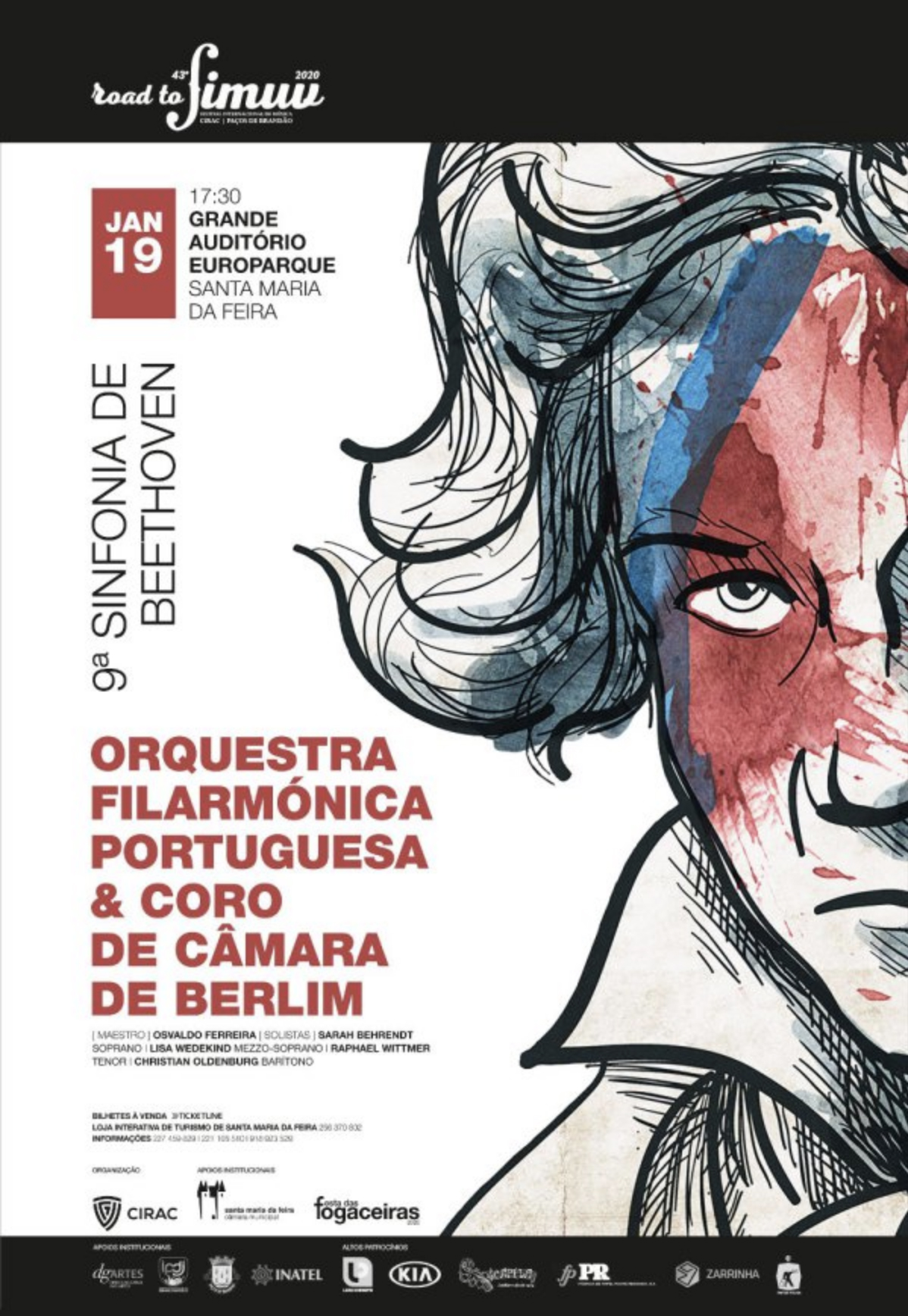 OFP + CORO CÂMARA BERLIM – 9ª SINFONIA – BEETHOVEN