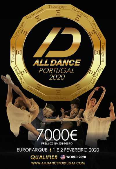 ALL DANCE PORTUGAL 2020 no EUROPARQUE