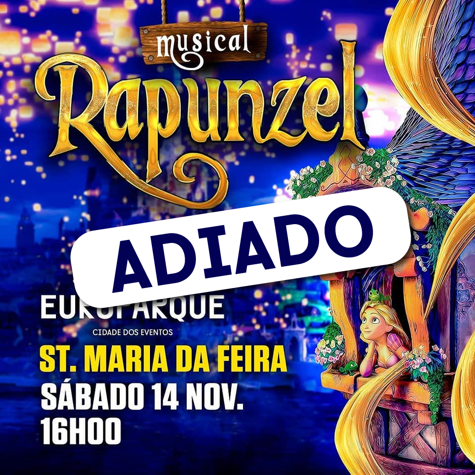 Musical Rapunzel ADIADO Para 23 De Janeiro