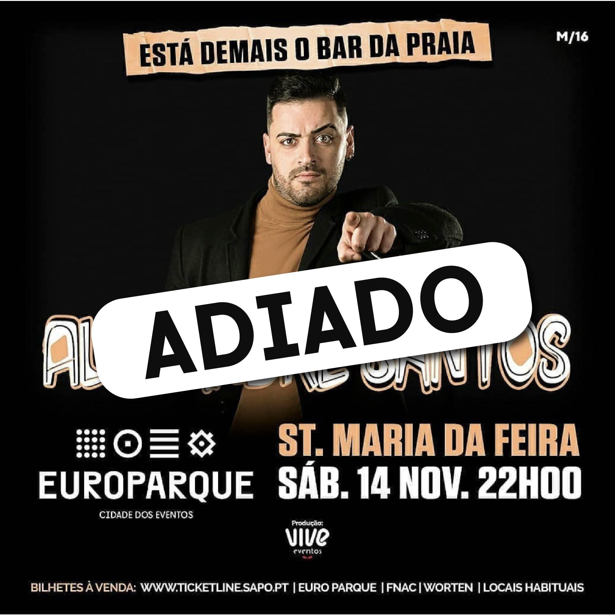 """""""Está Demais O Bar Da Praia"""" ADIADO Para 23 De Janeiro"""