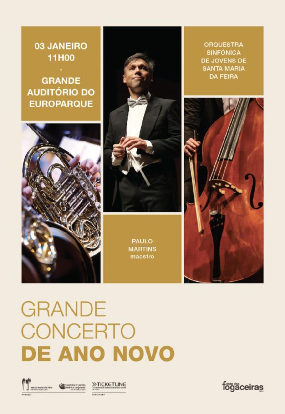 Grande Concerto De Ano Novo No EUROPARQUE